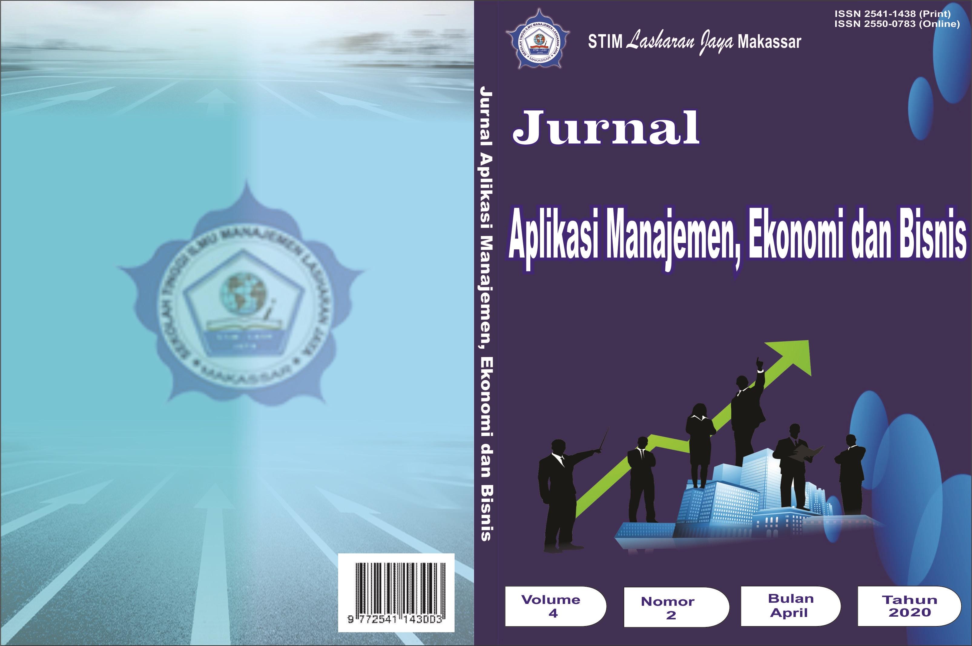 View Vol. 4 No. 2 (2020): JURNAL APLIKASI MANAJEMEN, EKONOMI DAN BISNIS