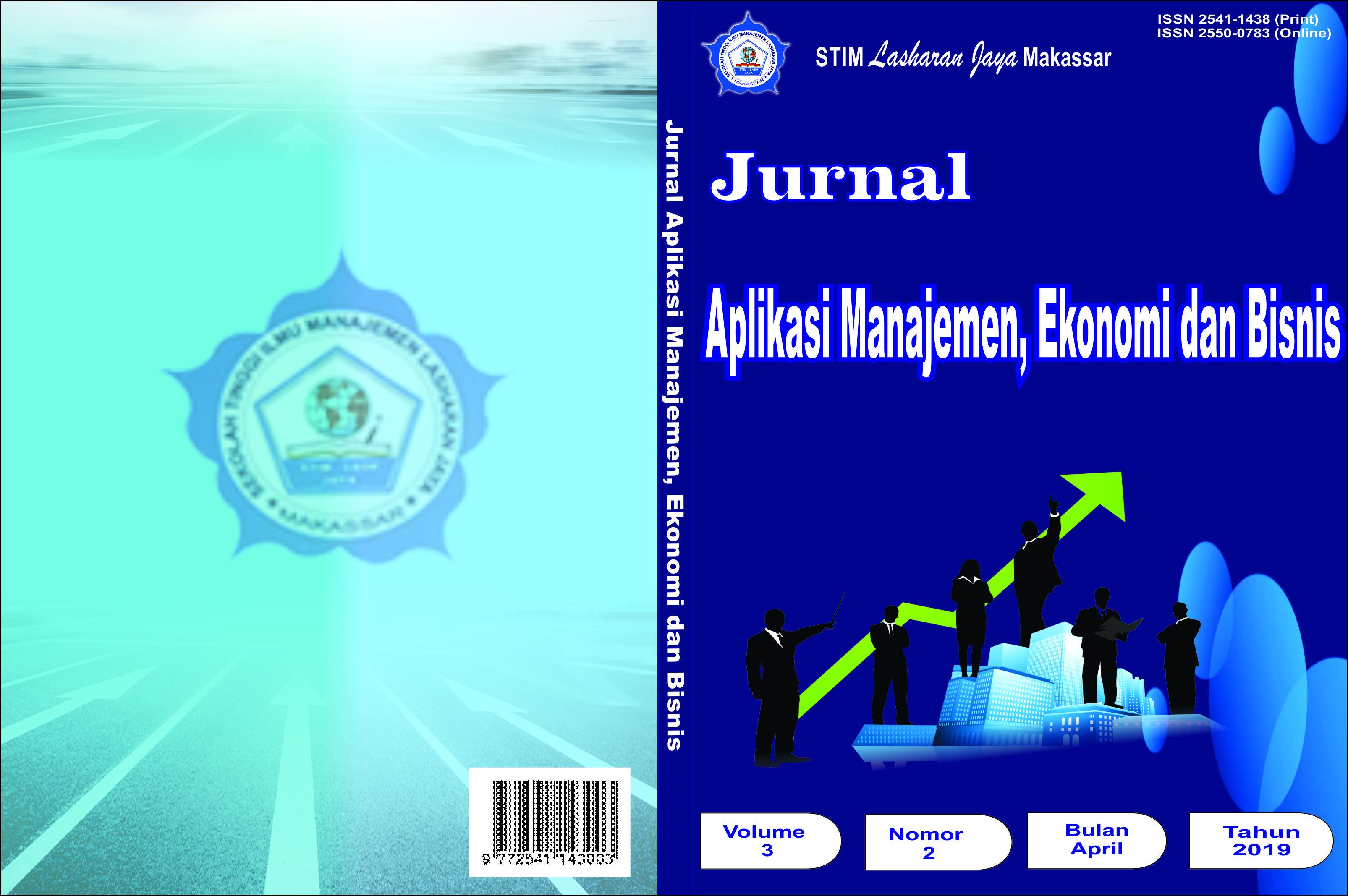 View Vol. 3 No. 2 (2019): JURNAL APLIKASI MANAJEMEN, EKONOMI DAN BISNIS